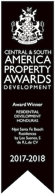 Central & South America Property Awards Development Winner 2017 - 2018